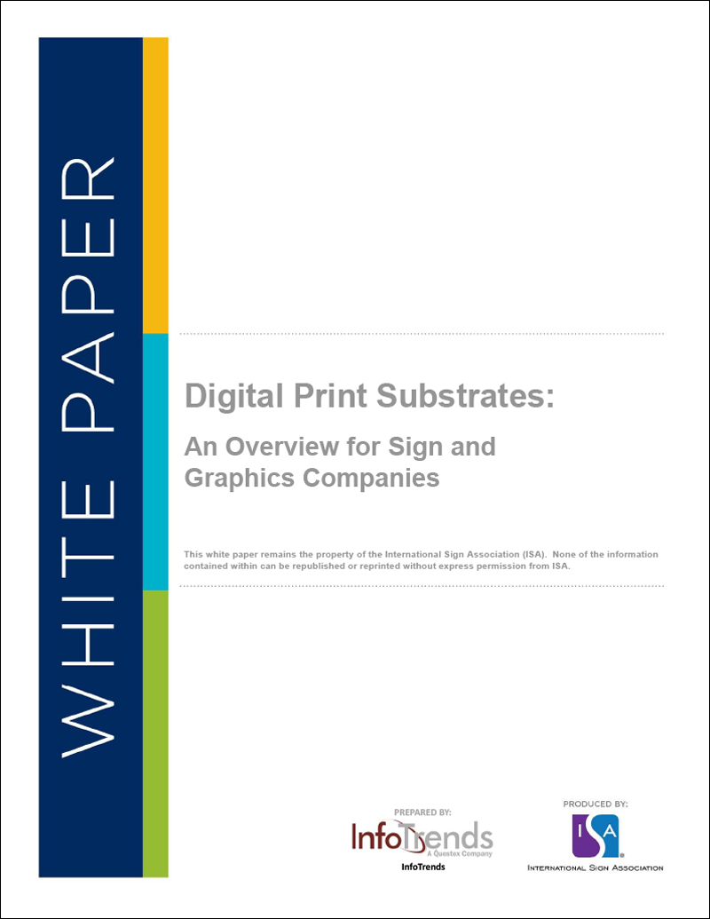Digital Print Substrates