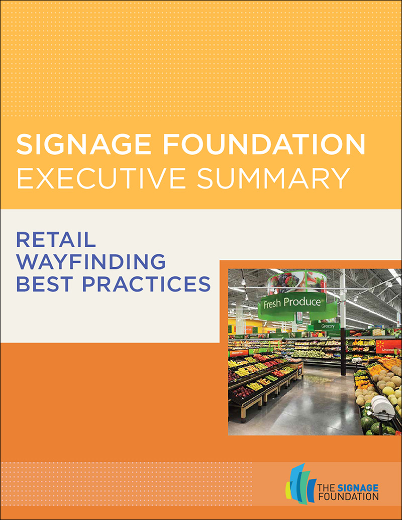 Retail Wayfinding Best Practices – Executive Summary